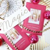 Le parfum de cette période de fête : LET'S CELEBRATE! Une mandarine, quelques fraises, des notes florales de gardénia, chèvrefeuille et mimosa avec en note finale une pincée de bois de santal! 🍾🥂#BridgewaterCandles #candle #candles #bougies #bougie #candleaddict #mode #influenceuse #youtubeuse #blogueuse #fragrance #bougiesaddict #bougieparfumee #homefragrance #decoration #blogueusemode #partenariat #fleuriste #flowershop #conceptstore #champagne #celebration #paillette #paillettes #champ  #noel #reveillon #loveislove